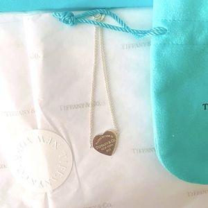 Return to Tiffany® Heart Tag Double Chain Bracelet